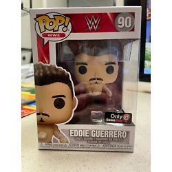 Kyпить FUNKO POP EDDIE GUERRERO W/ PIN WWE #90 GAMESTOP EXCLUSIVE IN HAND FAST SHIPPING на еВаy.соm