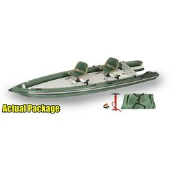 Kyпить Sea Eagle FishSkiff16 - 2 Person Inflatable Fishing Skiff Swivel Seat Package! на еВаy.соm
