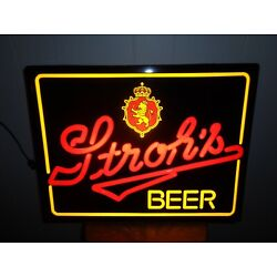 Kyпить VINTAGE STROH'S BEER LIGHTED SIGN, MAN CAVE на еВаy.соm