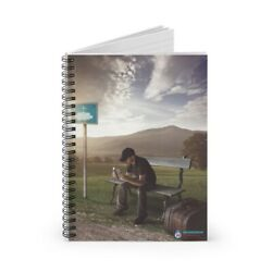 Kyпить Bus Stop WordDrop Spiral Notebook Prayer Journal - Ruled Line на еВаy.соm