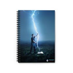 Kyпить Lightening Power WordDrop Spiral Notebook Prayer Journal - Ruled Line на еВаy.соm