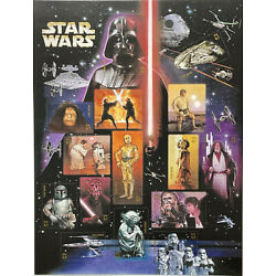 Kyпить US STAR WARS STAMPS SHEET OF 15 2007 MNH SCIENCE FICTION SOLO YODA SCI-FI R2 D2 на еВаy.соm