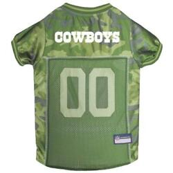Dallas Cowboys Pet Camo Jersey from StayGoldenDoodle.com