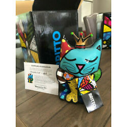 Romero BRITTO Royalty Cat. Limited 2nd edition. MINT condition w/cert and box