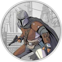 Kyпить STAR WARS – THE MANDALORIAN 2021 Niue silver coin на еВаy.соm