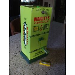 Kyпить Wrigley's Doublemint chewing gum vending machine gumball candy diner game room  на еВаy.соm