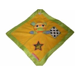 Kyпить Baby Little Miss Matched Missmatched Yellow Green Star Security Blanket Lovey на еВаy.соm