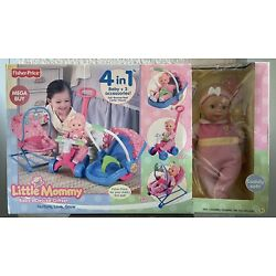 Vtg 2008 Fisher-Price Little Mommy Baby s Deluxe Giftset Doll Accessories NIB