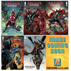 Kyпить ???? SPAWN UNIVERSE #1  ????ALL 6 REGULAR AND VARIANT COVERS ???? NM ????  на еВаy.соm