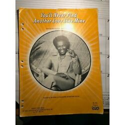 Kyпить LOU RAWLS - YOU'LL NEVER FIND ANOTHER LOVE LIKE MINE SHEET MUSIC PIANO на еВаy.соm
