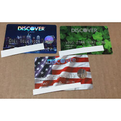 Kyпить Lot Of 3 Expired Credit Cards For Collectors - Discover Cards (9158) на еВаy.соm