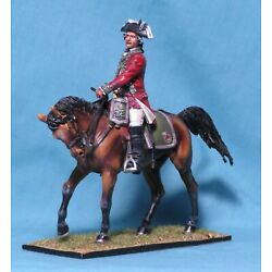 Kyпить First Legion AWI025 BRITISH 5TH OF FOOT MOUNTED COLONEL Mint SOLD OUT!  1776 на еВаy.соm
