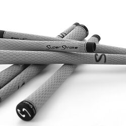SuperStroke S-Tech Golf Grips - Gray and Black
