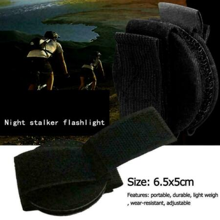 img-Military Flashlight Torch Belt Holster Holder Pouch R5Y6 Accessories T0Q4