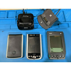 Dell Axim 50, Palm VII, Palm Zire - PDA lot - FOR PARTS, NOT WORKING