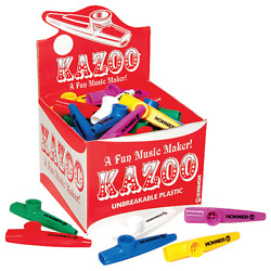Hohner KC 50 Kazoos of Assorted Colors Box of 50