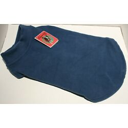 Gooby Stretch Fleece Vest Small Dog Pull Over Jacket Sweater SMALL BREED Size XL