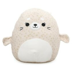 NEW 8   Lilou the Spotted Seal  Kellytoy Squishmallow Squeezable Plush Pet! ????????