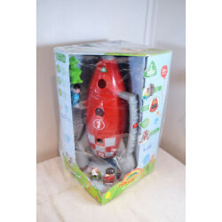 NEW HappyLand Lift-Off Rocket Playset iPlay ELC Early Learning Centre SpaceAlien