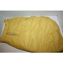 Boots and Barkley Yellow Puffer Fleece Lined Dog Jacket - M, L, or XL
