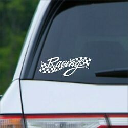 Racing Vinyl Decal for Home and Auto