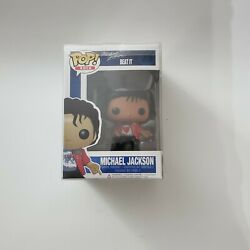 Funko POP Rock Beat it 23# Michael Jackson Action Figure Toy with soft protector