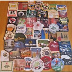 50 New Beer Coasters! No Dupes! Instant Collection! US & Imports!  Only $14.99!