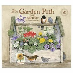 2022 LEGACY Garden Path by Bonnie Heppe Fisher - Deluxe Wall Calendar