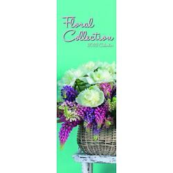 2022 Floral Collection - Slim Wall Calendar