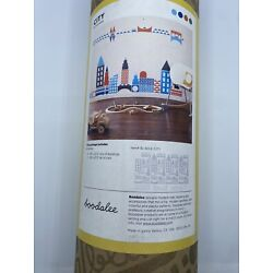 Stick-On Re-Stik City Buildings Transportation Cars Wall Decals
