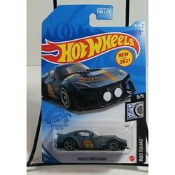 Hot Wheels * Rod Squad * Muscle and Blown * Blue * New for 2021