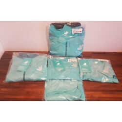 Deliveroo Pack Mid Layer Jacket Short Sleeve T-shirts Waterproof Jacket Sizes XL