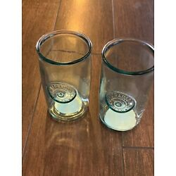 Levi Strauss x Target Recycled Tall Drinking Glasses Tumblers Set of 2 Limited