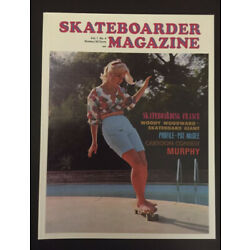The Quarterly Skateboarder Magazine Vol 1 Issue 4 Pat McGee October 1965