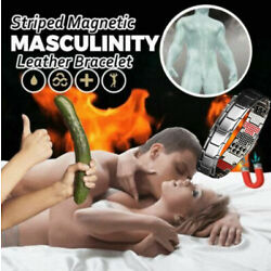 Men's Magnetic Bracelet Bloods Circulation Therapy Healthy Slimming Masculinity
