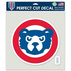 Chicago Cubs Cooperstown 8'' x 8'' Perfect Cut Color Decal