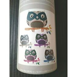 DCWV Once Upon A Wall Decals Stickers Owls Branches Glitter Dorm Apartment Apt