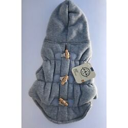 Dog Coat At Bond & Co Fleece Small 13-15 Inches Hooded Quilted Jacket Lined