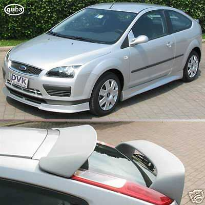 ford focus bodykit accessories rear roof spoiler 39 rs 39 ebay. Cars Review. Best American Auto & Cars Review