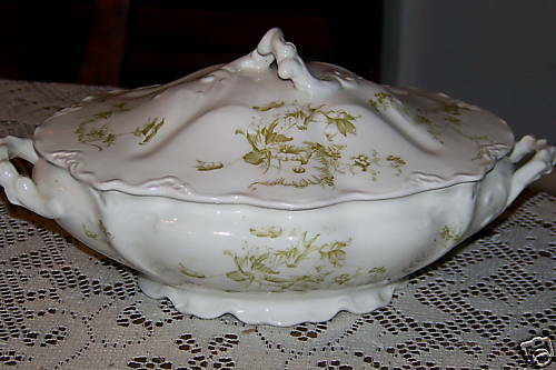 Johnson Bros England Oval Covered Serving Bowl Ebay
