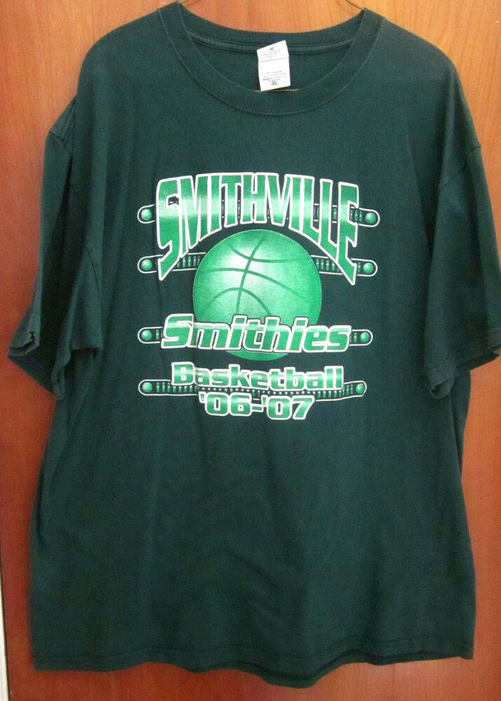 Smithville high school beat up tee 2006 smithies for High school basketball t shirts