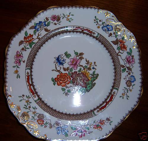 spode chinese rose y7416 bone china cake plate ebay. Black Bedroom Furniture Sets. Home Design Ideas