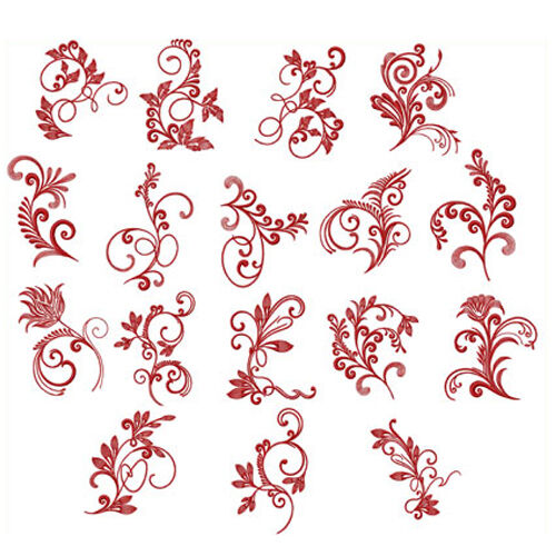 Abc designs spirited herbarium 17 machine embroidery for Embroidery office design 7 5 full