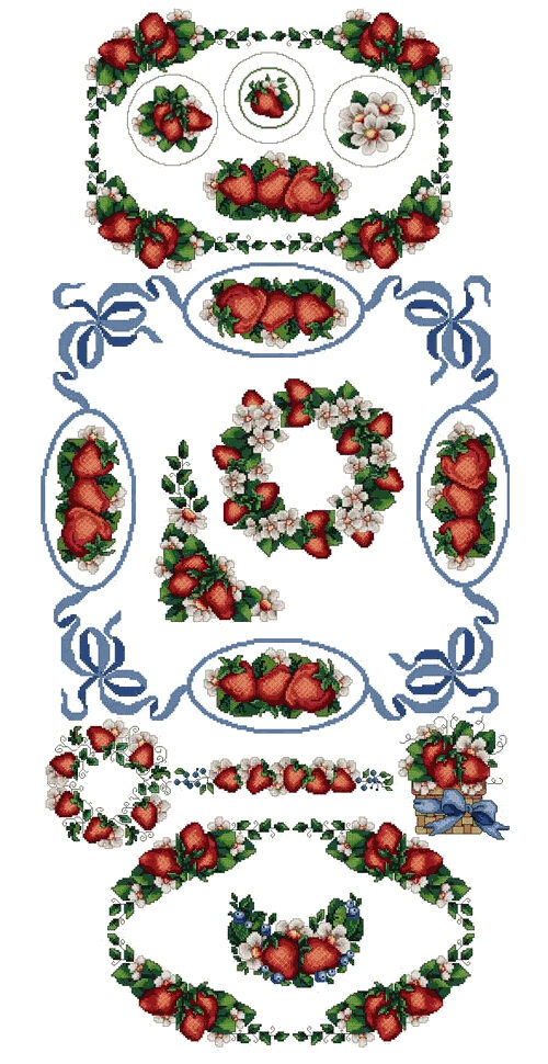 Abc designs strawberries flavor13 machine embroidery for Embroidery office design 7 5 full