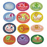 "ABC Designs Twelve Month Gala Patches Machine Embroidery Designs Set 5""x7"" Hoop"