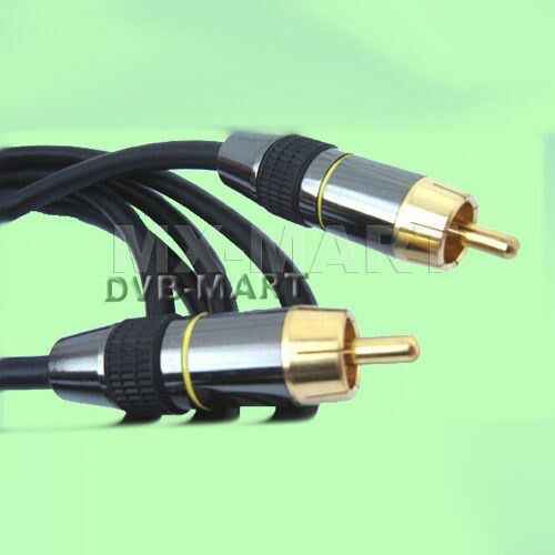 coaxial s pdif digital audio rca cable spdif 75ohm dvd ebay. Black Bedroom Furniture Sets. Home Design Ideas