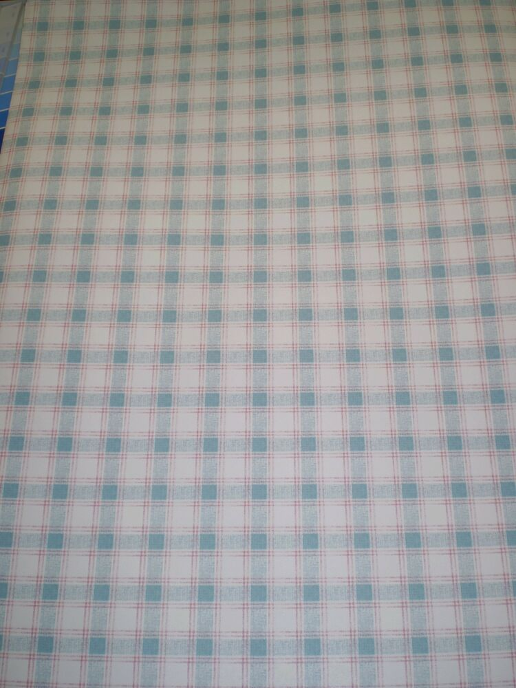 blue green red plaid on white wallpaper by imperial kb6026 ebay. Black Bedroom Furniture Sets. Home Design Ideas