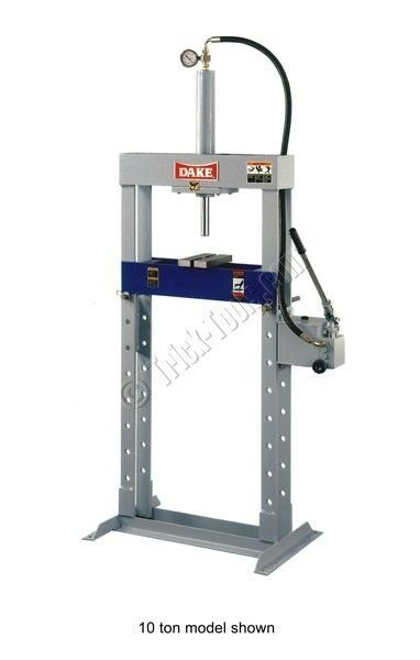 Dake Force 10m 10 Ton Series H Frame Press Ebay