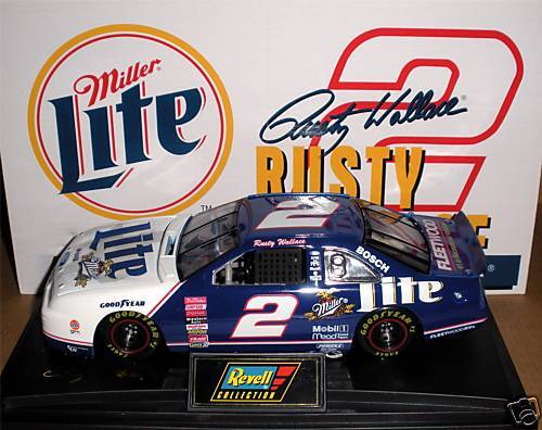 Rusty Wallace Ford >> NASCAR ~ REVELL COLLECTION ~ 1999 ~ RUSTY WALLACE #2 ...