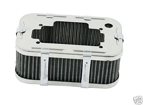 Vw Air Cleaners : Empi vw bug weber dgv air filter quot high ebay